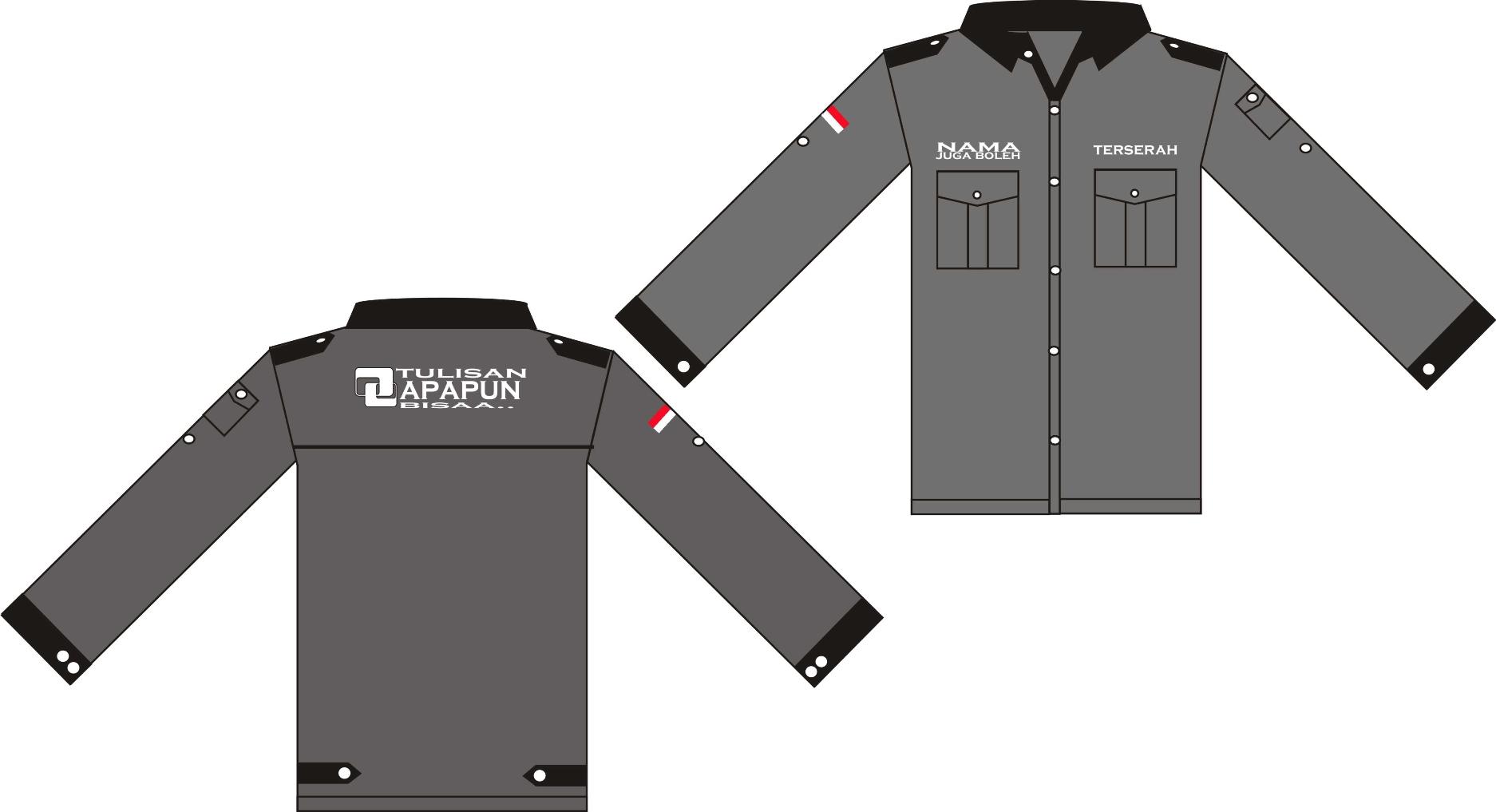 Harga Jual Desain Kaos Polos Lengan Panjang Coreldraw Cara Membuat